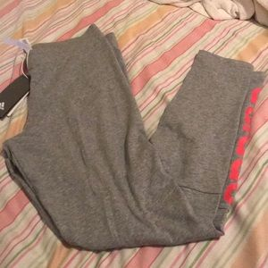 Adidas grey leggings. Size medium.